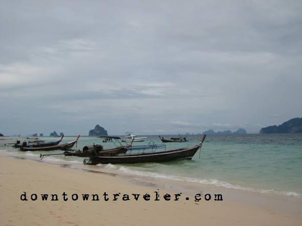 Boats in Koh lanta, Thailand