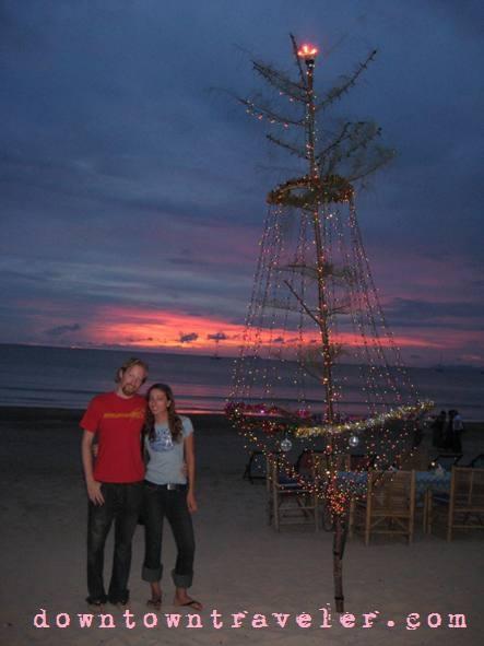 A Christmas tree in Koh Lanta, Thailand.