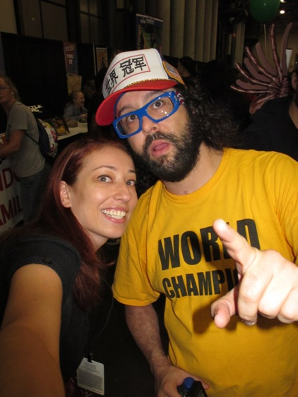Comic Judah Friedlander at NY Comic Con 2010
