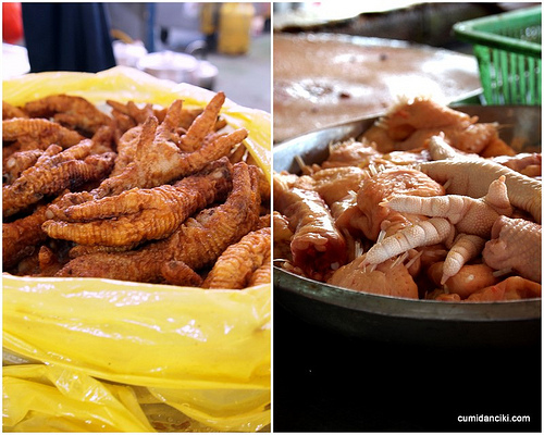 Chicken feet are a Malaysian specialty. Photo: Cumidanciki.com