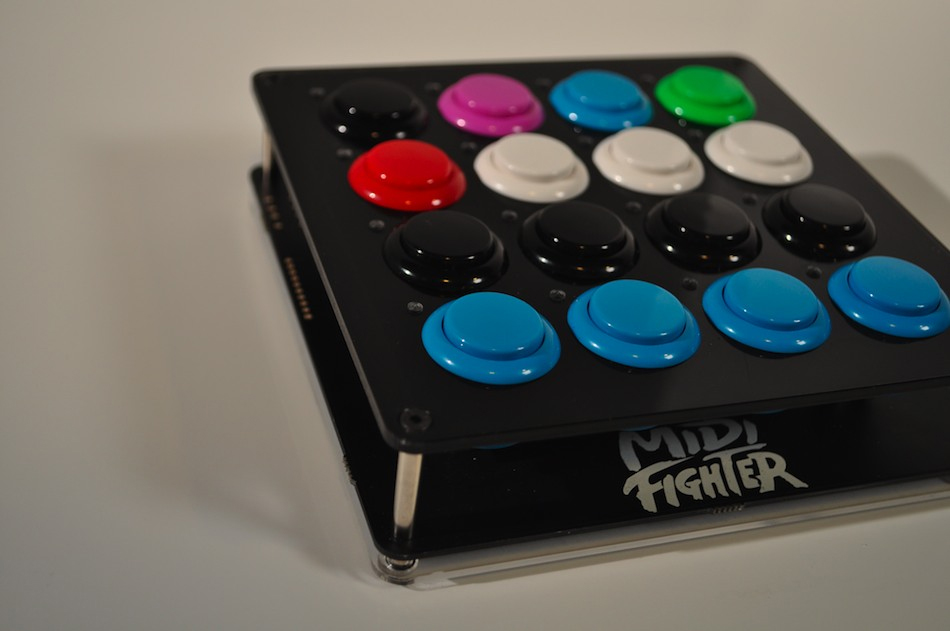 The Midifighter DIY 16 button controller