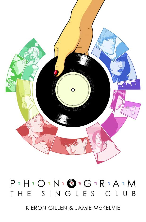 Phonogram The Singles Club comic book