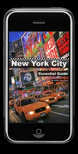 Essential NYC Guide app by Jeffrey Tanenhaus