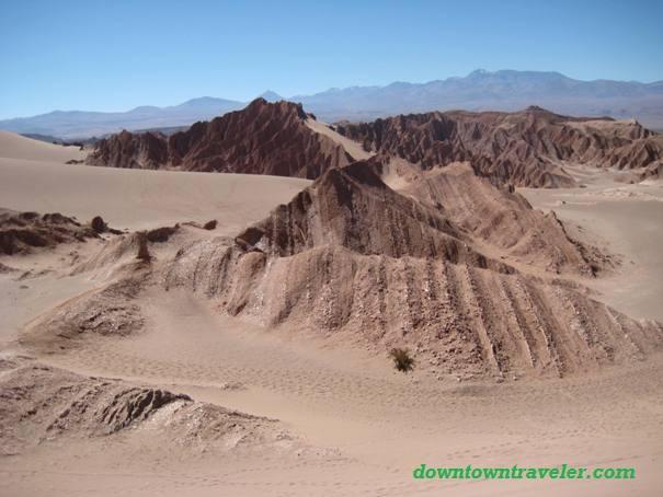 Sandboarding in San Pedro de Atacama, Chile