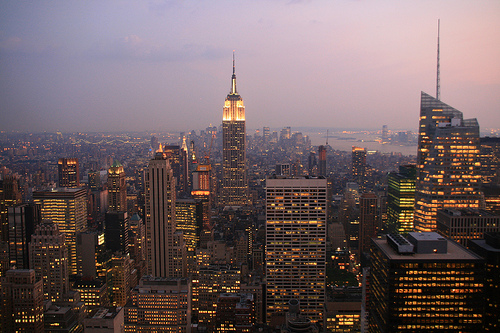 Photo of NYC skyline by Jeffrey Tanenhaus