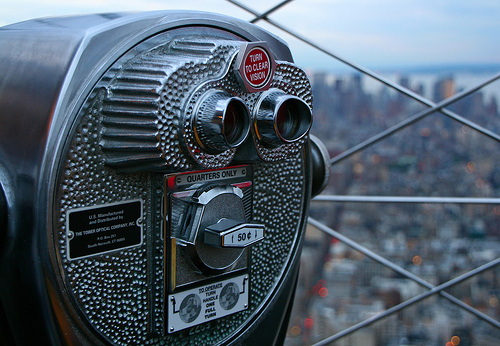 View from NYC's Empire State Building