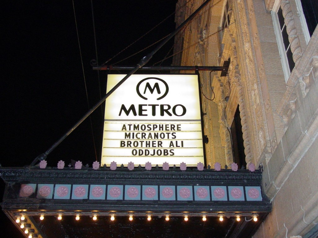 The Metro in Chicago, IL