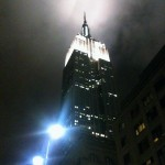 empire state building nyc logo