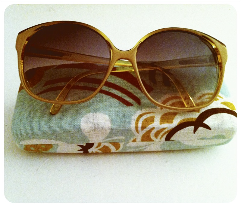 Vintage sunglasses from LA's Rose Bowl Flea Market