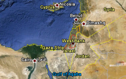 Is It Safe To Travel To Egypt And Jordan US Tourism Leaders To - Map of egypt google maps