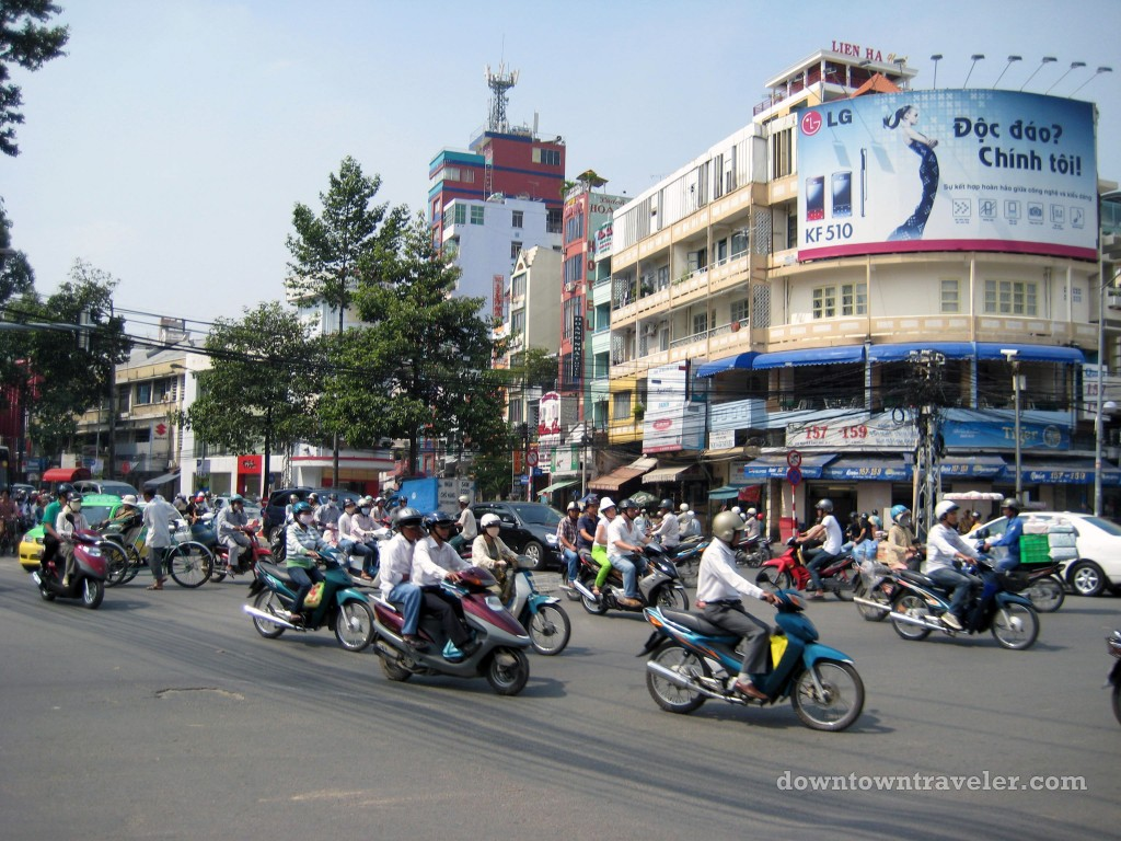 Bicycles in Saigon, Vietnam