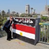 cairo egypt flag street art