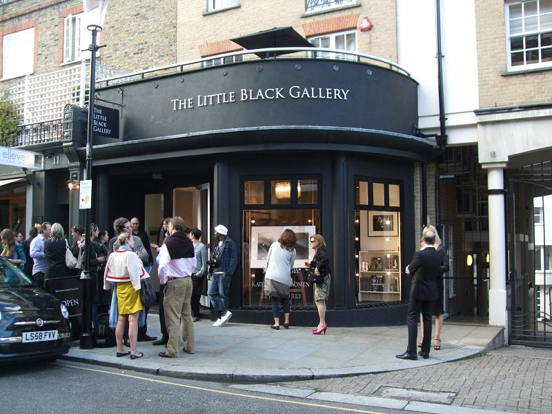 The Little Black Gallery in London