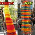 "TweetStripes were clearly ""in"" this summer, judging by the public art in America's most creative cities. Bright bands of color graced trees in Seattle's Occidental Park and lampposts in New..."