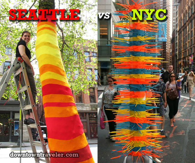 Seattle vs NYC public art battle