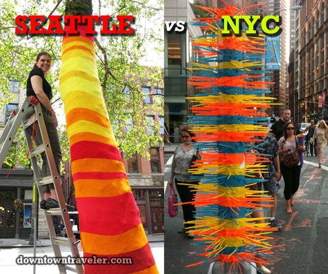 Seattle vs NYC public art battle