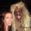 NYC Blood Manor Haunted House 2011_leslie with troll