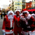TweetNot feeling the holiday spirit in your neighborhood? Head down to the East Village today for SantaCon 2011! Thousands of Santas are currently swarming downtown Manhattan for this annual celebration....