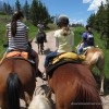 Horseback riding in Vail 4