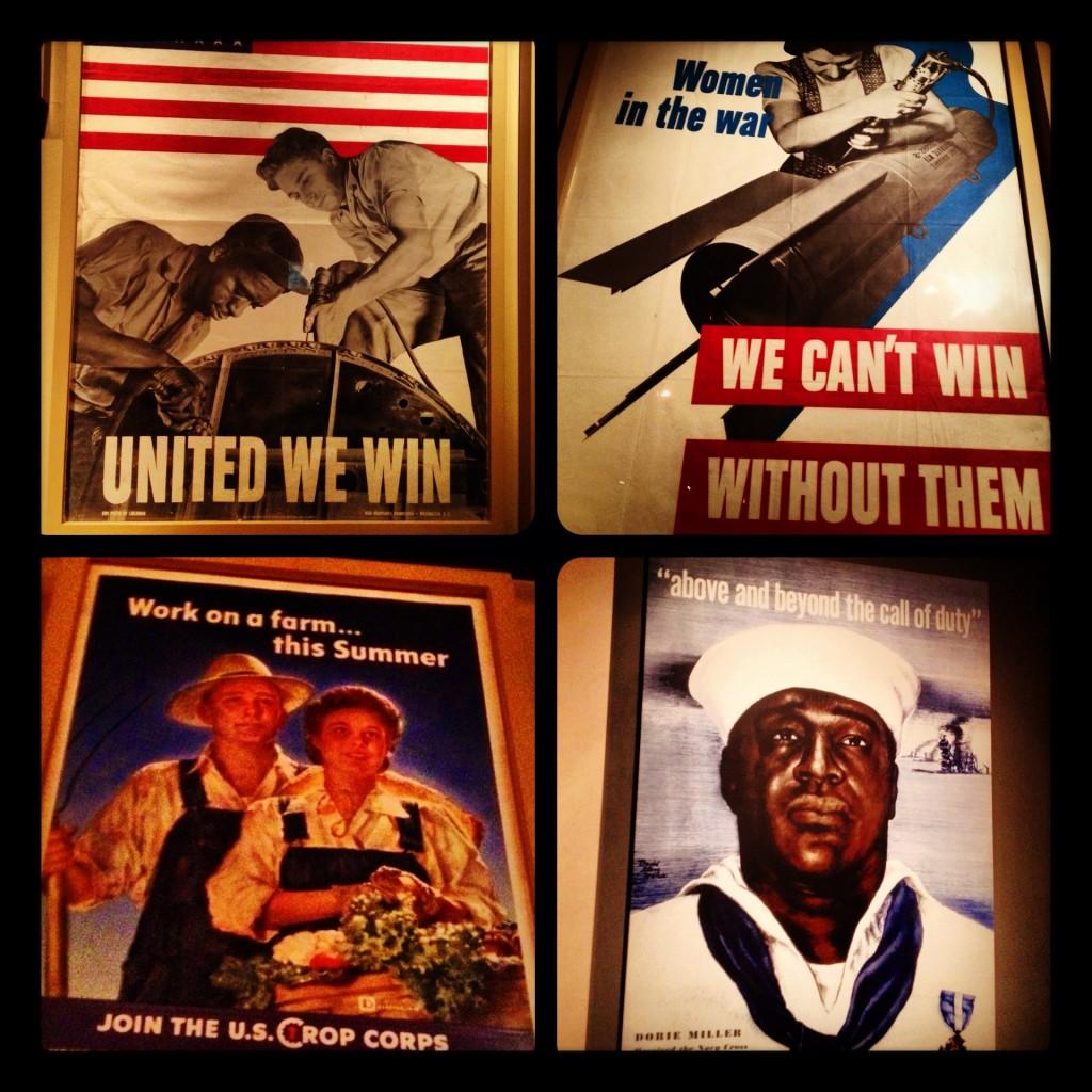National World War II Museum posters