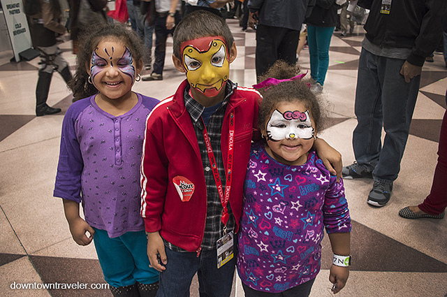 NY Comic con kids costumes